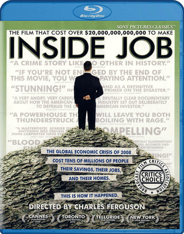 Inside Job (Blu-ray) BLU-RAY Movie