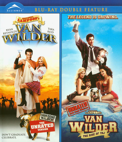 Van Wilder / Van Wilder Rise of Taj Double Feature UNRATED (Blu-Ray) BLU-RAY Movie
