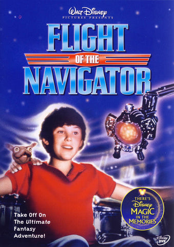 Flight of the Navigator DVD Movie