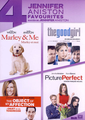 Marley And Me / The Good Girl / Picture Perfect / Object of My Affection (Bilingual) (Boxset) DVD Movie