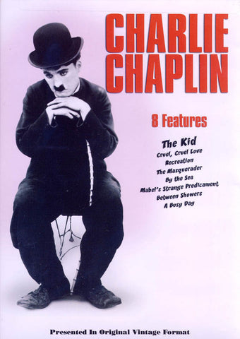 Charlie Chaplin (8 Features) DVD Movie
