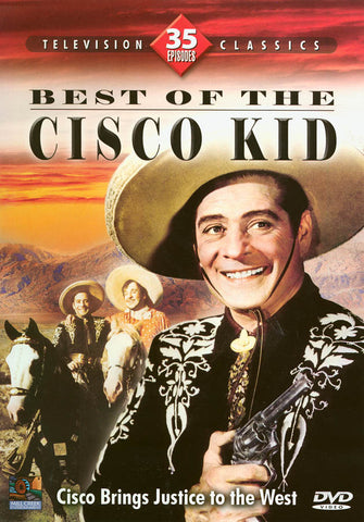 Best of The Cisco Kid (35 Episodes) (Boxset) DVD Movie