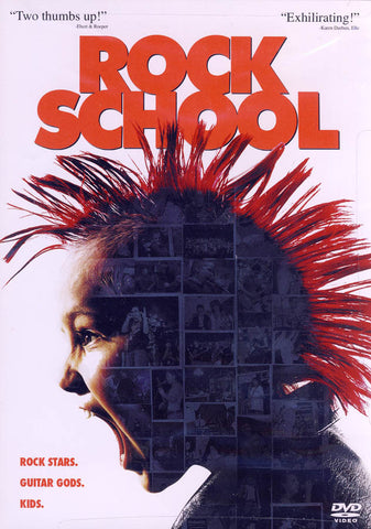 Rock School (SONY) DVD Movie