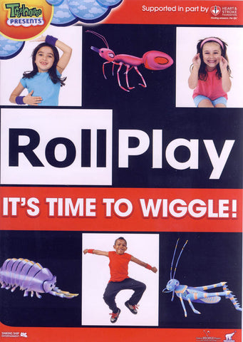 Roll Play - It s Time to Wiggle! (Red Cover) DVD Movie