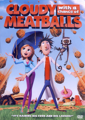 Cloudy with a Chance of Meatballs (Single Disc) DVD Movie