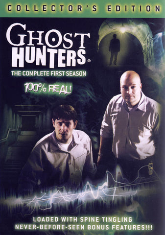 Ghost Hunters: The Complete First Season (Collector s Edition) DVD Movie