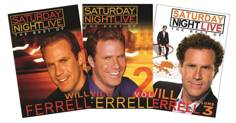 Saturday Night Live - The Best Of Will Ferrell Pack (3 Pack) (Boxset) DVD Movie