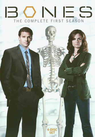 Bones - The Complete First Season DVD Movie