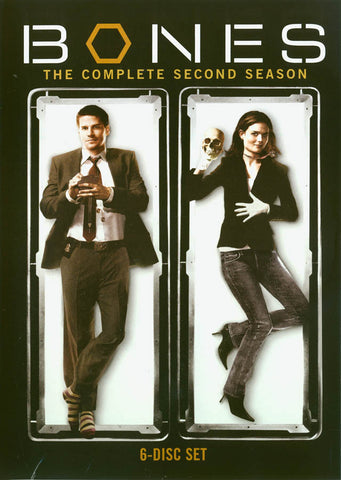 Bones - The Complete Second Season (Boxset) DVD Movie
