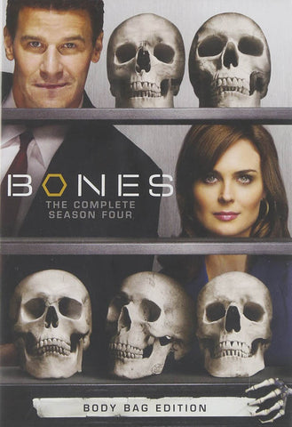 Bones - The Complete Fourth Season (Boxset) DVD Movie