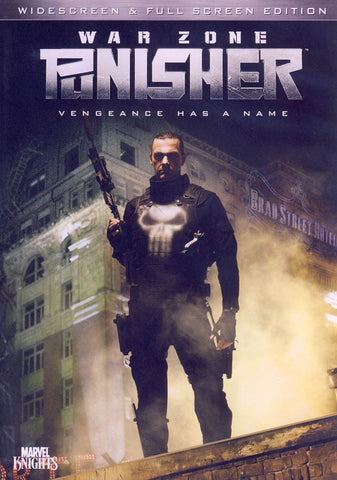 Punisher War Zone (2009) DVD Movie