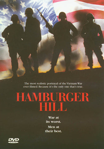 Hamburger Hill DVD Movie