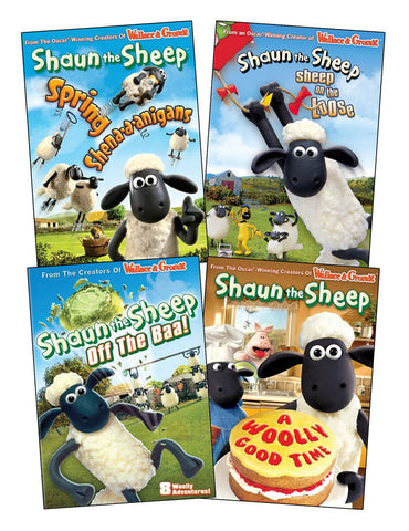 The Shaun the sheep collection #1 (4 pack) (Boxset) DVD Movie