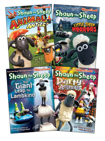 The Shaun the sheep collection #2 (4 pack) (Boxset) DVD Movie