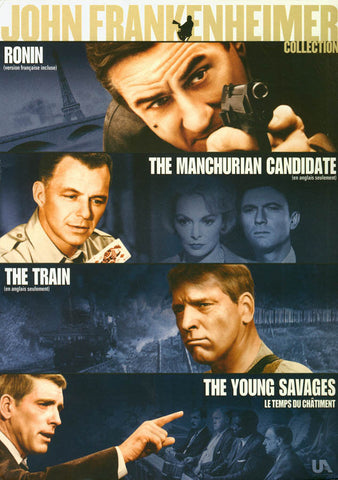 John Frankenheimer Collection (Ronin/Manchurian Candidate/Train/Young Savages)(Boxset) (Bilingual) DVD Movie