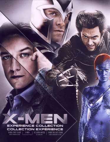 X-men - Experience Collection (Blu-ray) (Boxset) (Bilingual) BLU-RAY Movie