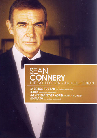 Sean Connery Collection (A Bridge Too Far / Cuba / Never Say Never Again / Shalako)(Boxset) (Bilingu DVD Movie