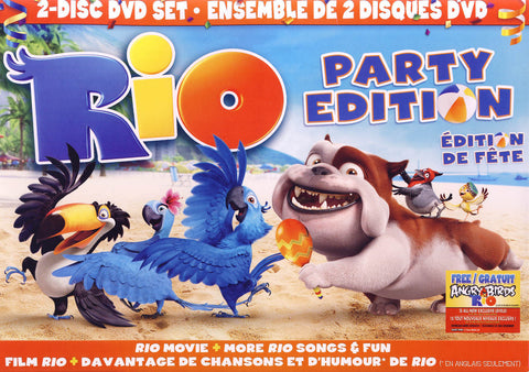 Rio - Party Edition (Side by Side) (Boxset) (Bilingual) DVD Movie