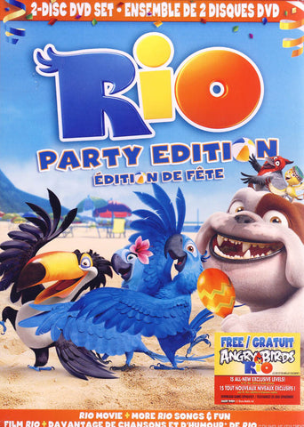Rio - Party Edition (Boxset) (Bilingual) DVD Movie