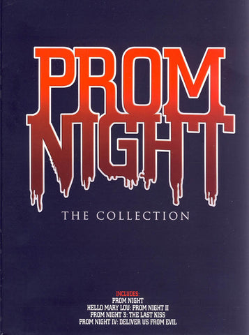 Prom Night - The Collection (Boxset) (Bilingual) DVD Movie