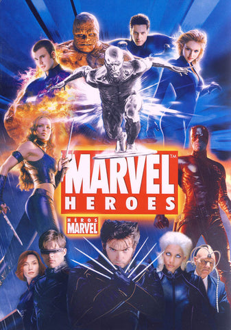Marvel Heroes Collection (Boxset) (Bilingual) DVD Movie