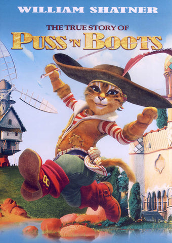 The True Story of Puss'n Boots DVD Movie