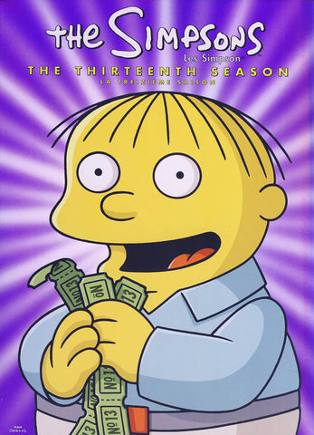 The Simpsons - The Complete Thirteenth Season (Boxset) (Bilingual) DVD Movie