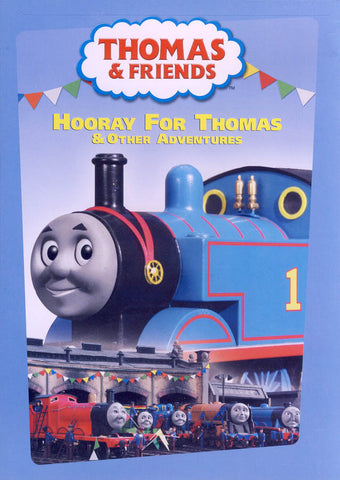 Thomas And Friends - Hooray for Thomas and Other Adventures DVD Movie