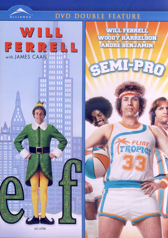 Elf / Semi-Pro (Double Feature) (Bilingual) DVD Movie