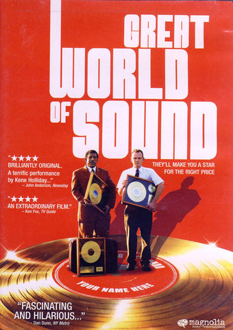Great World of Sound DVD Movie