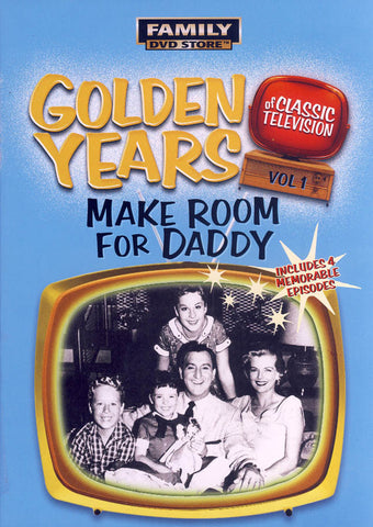 Golden Years of Classic Television Vol. 1: Make Room for Daddy DVD Movie