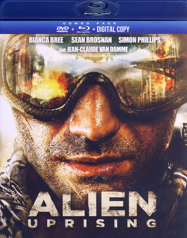 Alien Uprising (DVD / Blu-ray / DC) (Blu-ray) BLU-RAY Movie