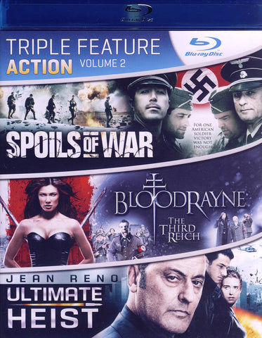 Triple Feature Action - Volume 2 (Blu-ray) BLU-RAY Movie