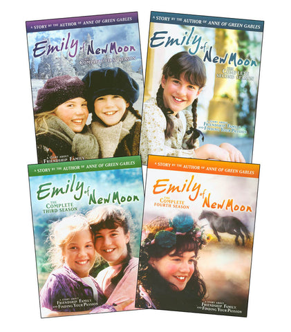 Emily of New Moon: The Complete Season 1-4 (Boxset) DVD Movie