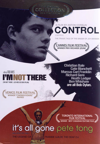 Control / I m Not There / It s All Gone Pete Tong (Triple Feature) (Boxset) (Bilingual) DVD Movie