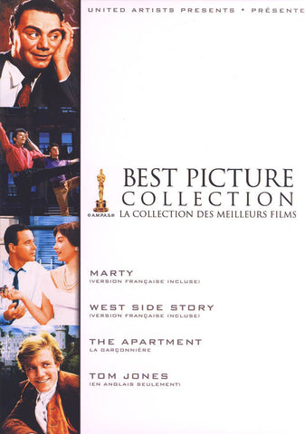 Best Picture Collection (Marty, West Side Story, The Apartment, Tom Jones) (Boxset) (Bilingual) DVD Movie