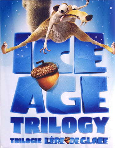 Ice Age Trilogy (Blu-ray) (Boxset) (Bilingual) BLU-RAY Movie