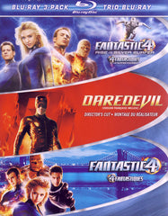 Fantastic 4 Rise of The Silver Surfer / Daredevil / Fantastic 4 (Blu-ray) (Boxset) (Bilingual)