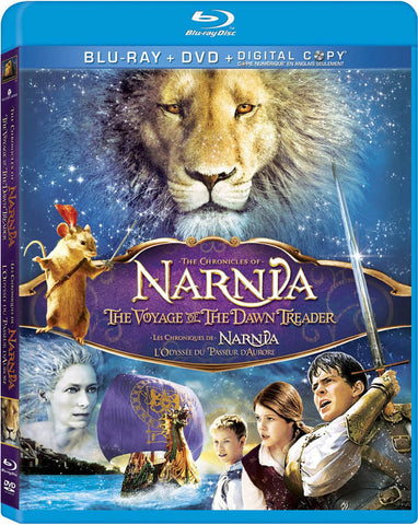 Chronicles of Narnia: The Voyage of the Dawn Treader(Blu-ray+DVD+Digital Copy)(Blu-ray) (Bilingual) BLU-RAY Movie