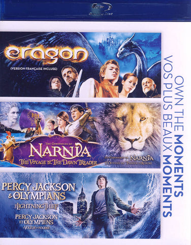Eragon / The Chronicles of Narnia / Percy Jackson & Olympians (Blu-ray) (Bilingual) BLU-RAY Movie
