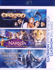 Eragon / The Chronicles of Narnia / Percy Jackson & Olympians (Blu-ray) (Bilingual)