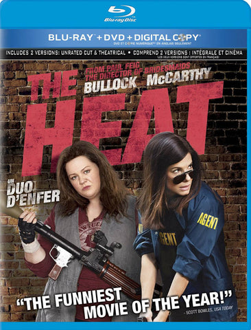 The Heat (Blu-ray + DVD + Digital Copy) (Blu-ray) (Bilingual) BLU-RAY Movie