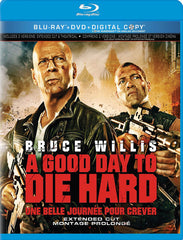 A Good Day To Die Hard (Blu-ray + DVD + Digital Copy) (Blu-ray) (Bilingual)