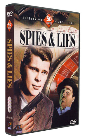 Spies & Lies - 50 Episodes (Boxset) DVD Movie