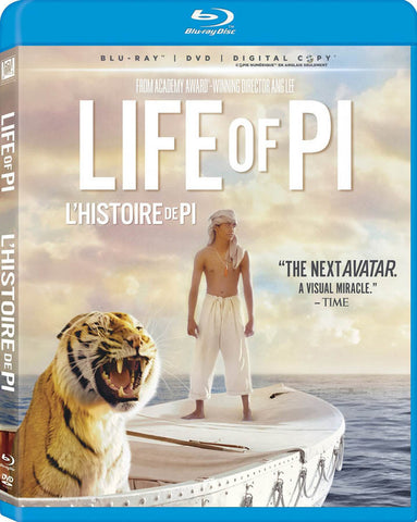 Life Of Pi (Blu-ray + DVD + Digital Copy) (Blu-ray) (Bilingual) BLU-RAY Movie