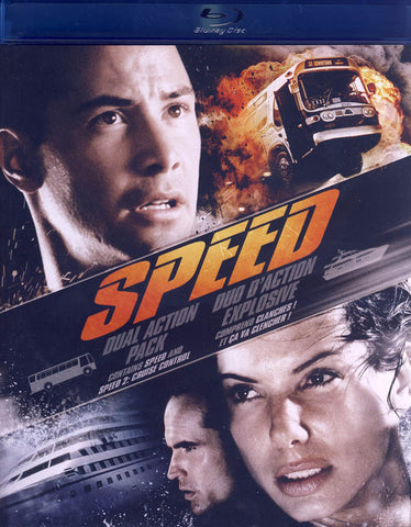 Speed / Speed 2 - Cruise Control (Blu-ray) (Bilingual) BLU-RAY Movie