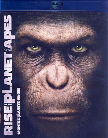 Rise of the Planet of the Apes (Blu-ray) (Bilingual) BLU-RAY Movie