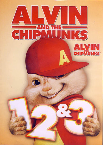 Alvin and The Chipmunk (1,2 & 3) (Bilingual) DVD Movie