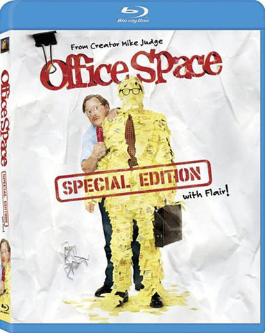 Office Space (Special Edition with Flair!) (Blu-ray) BLU-RAY Movie