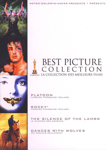 Best Picture Collection (Platoon / Rocky / The Silence of The Lambs / Dances With Wolves) (Boxset) ( DVD Movie